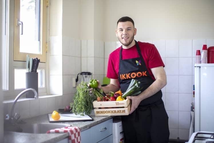 Ik kook met Marcel