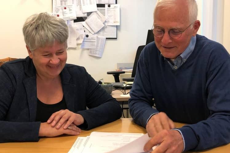 Dokter Frits met AVG Barbara