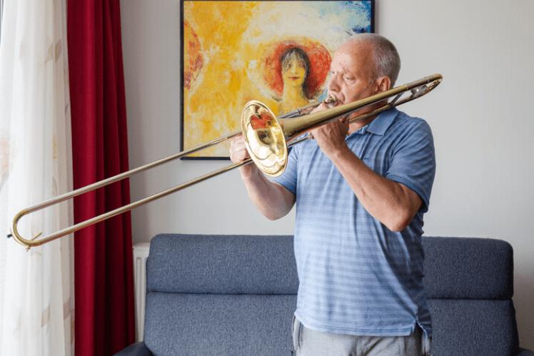 Ben met trombone