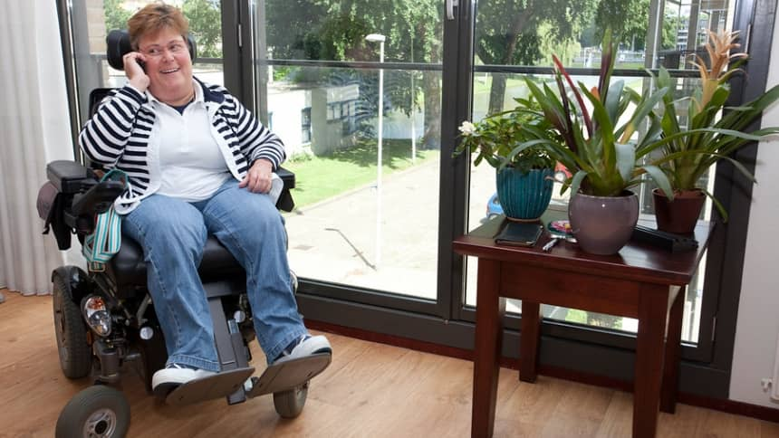 Volwassenen met een lichamelijke beperking